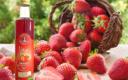 Sirop fraises bio les paniers davoine