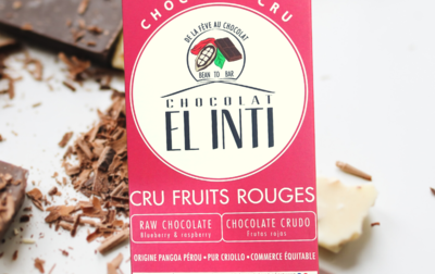 Chocolat CRU 75% Fruits rouges