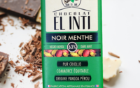 Chocolat noir à la menthe poivrée bio