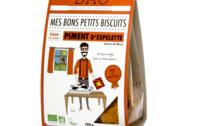 Biscuit apéritif bio au Piment d'Espelette - Les Paniers Davoine