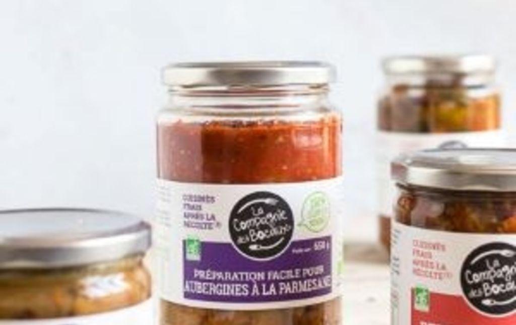 Préparation aubergine parmesane bio les paniers davoine var provence la compagnie des bocaux
