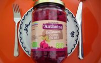 Betteraves bio cuites en dés