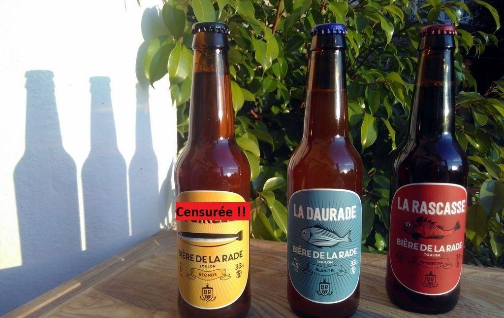 Bière blanche bio artisanale - La Daurade