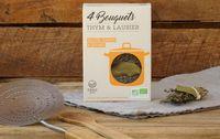 Bouquets garnis thym & laurier bio : pour les viandes