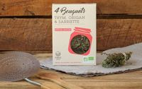 Bouquets garnis bio thym, origan, sarriette : pour les sauces