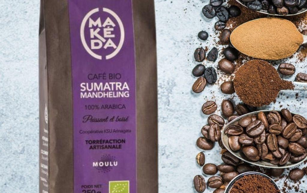 Café Sumatra Mandheling moulu bio