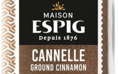 Cannelle moulue bio Maison Espig
