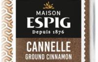 Cannelle moulue bio Maison Espig