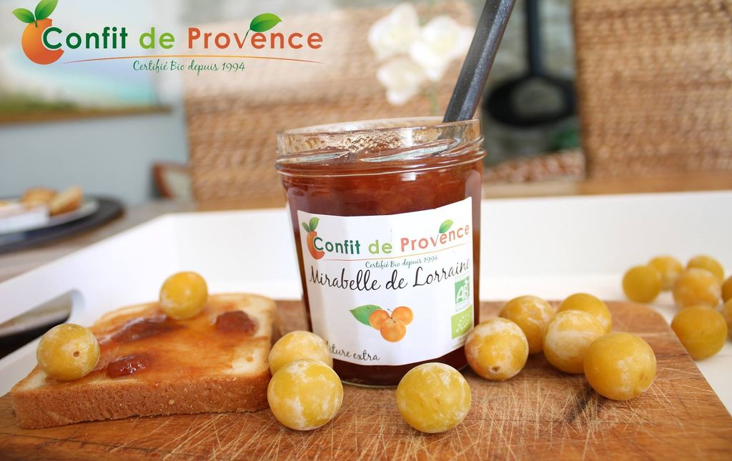 Confit de Provence confiture mirabelles 2