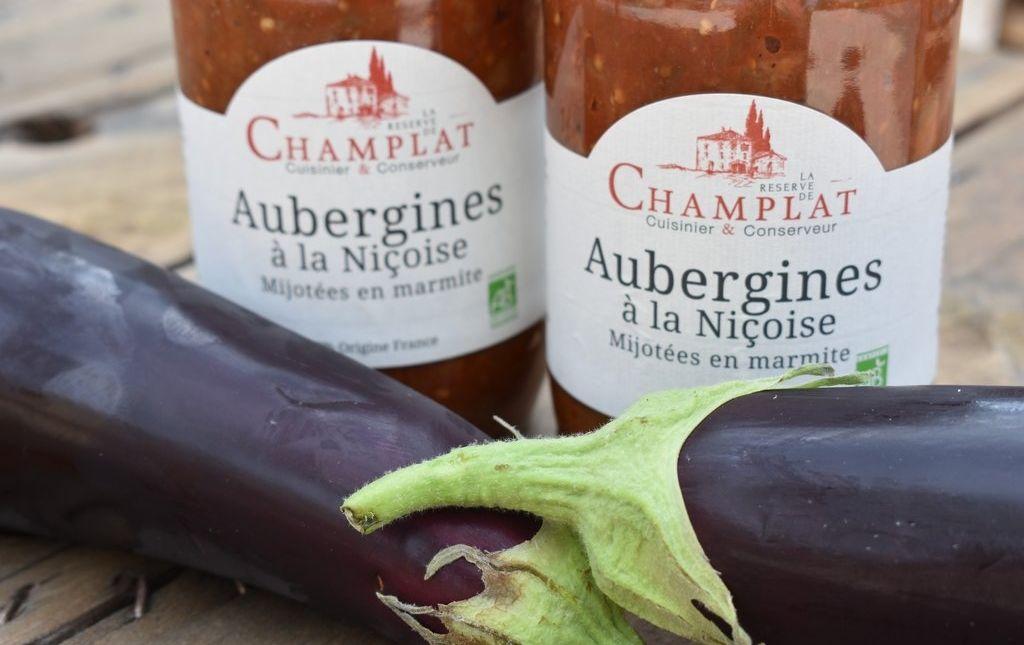 Aubergine niçoise champlat provence bio les paniers davoine