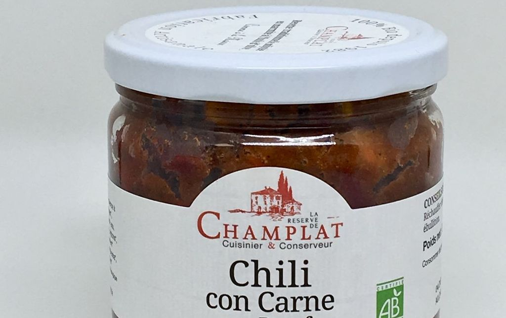 Chili con carne bio