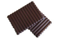 Chocolat noir (75%) et orange confite bio