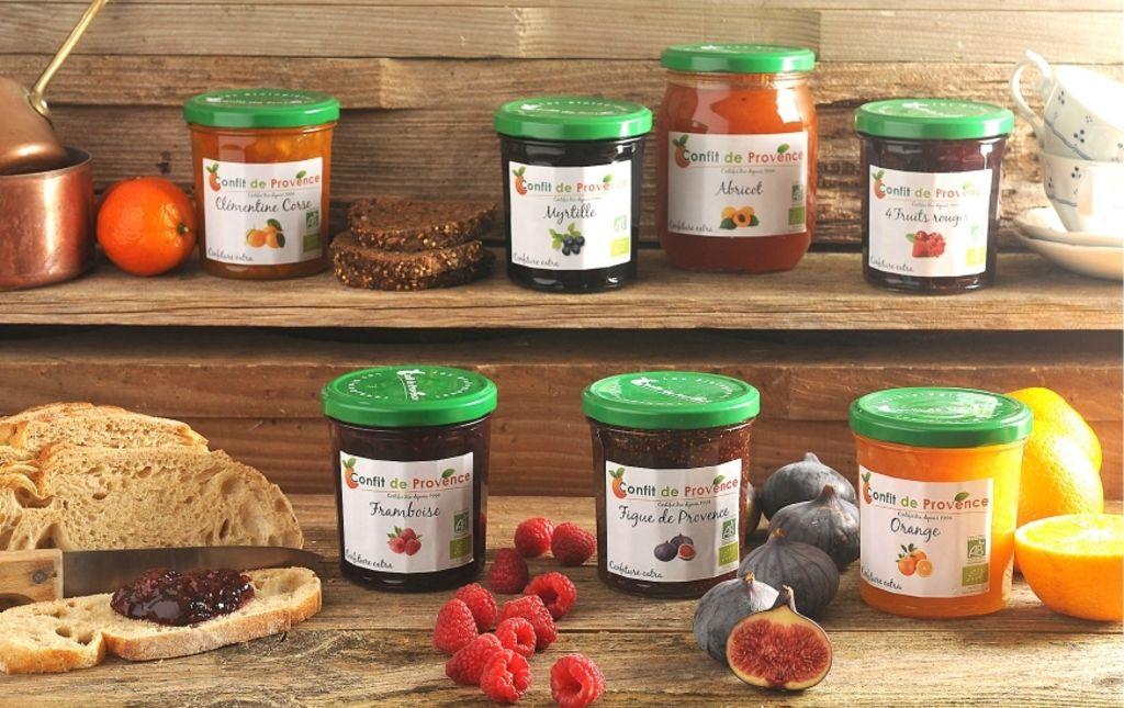 Confiture abricots confit de Provence Les Paniers Davoine 1