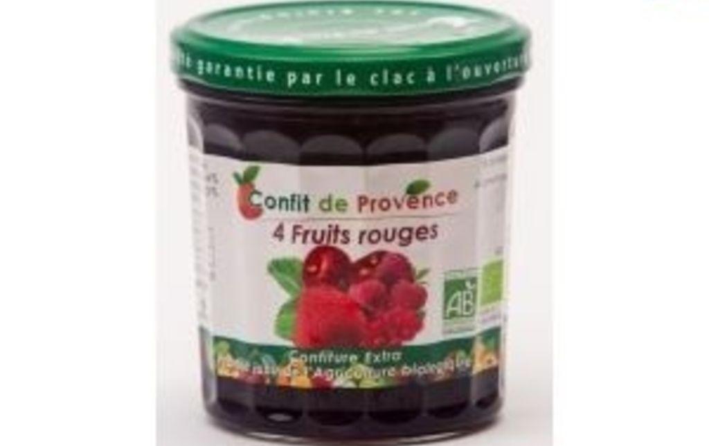 Confiture 4 fruits rouges CONFIT DE PROVENCE