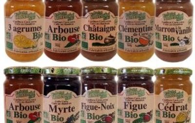 Confiture bio Corse de Figue 125G