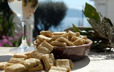 Biscuit bio aux herbes de Provence
