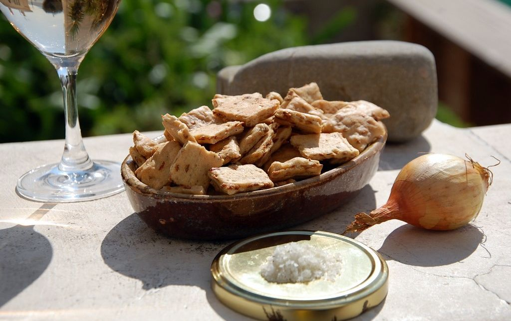 Biscuit bio aux oignons