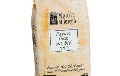 Farine de blé T80 variété ancienne bio - 1kg