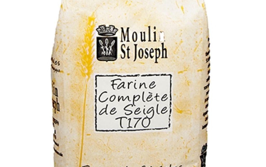 Farine deSeigleT170bio - 1kg