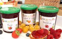 Confiture fraises bio de Provence Les Paniers Davoine 1