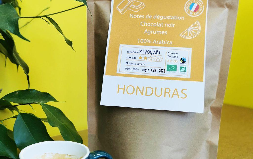 Café Honduras OOKA bio en grain Les Paniers Davoine