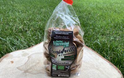 Canistrelli bio au chocolat
