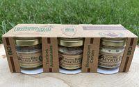 Tripack sanglier/olive/noisette muscat bio