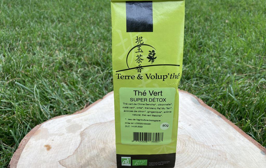 Thé vert Super Detox bio