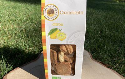Canistrelli bio au citron