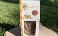 Macarons bio au chocolat