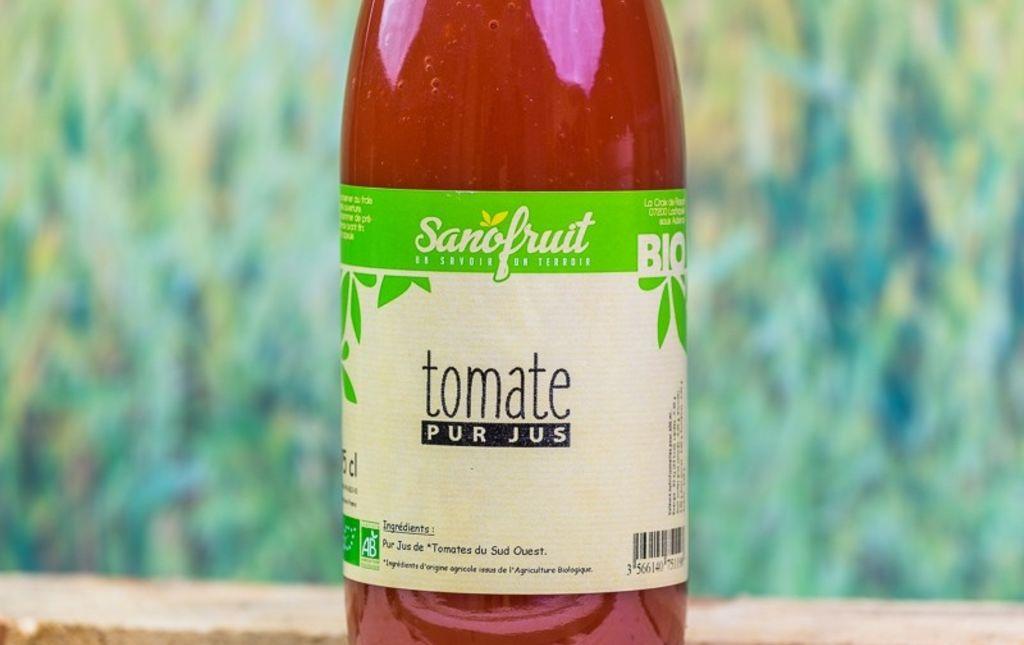 jus de tomates bio de Provence les paniers davoine