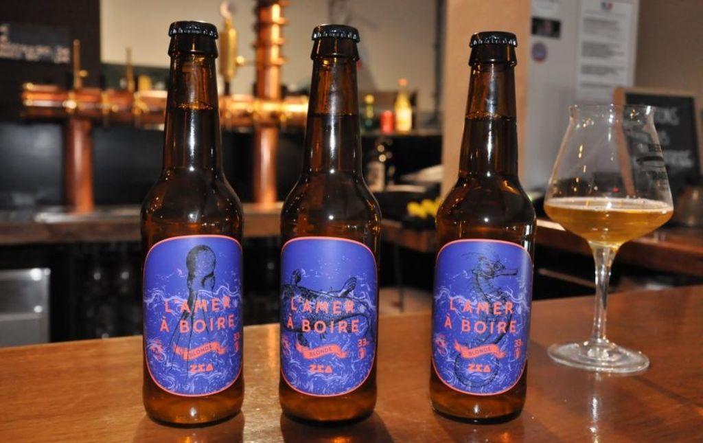 Bière blonde bio artisanale - L'Amer à Boire