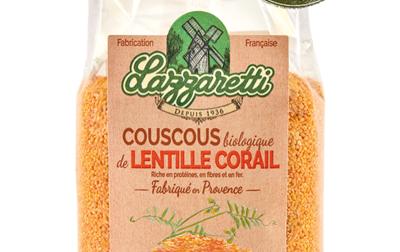 Couscous de lentilles corail bio