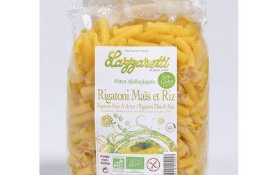 Pâtes Rigatoni de mais et riz (sans gluten)