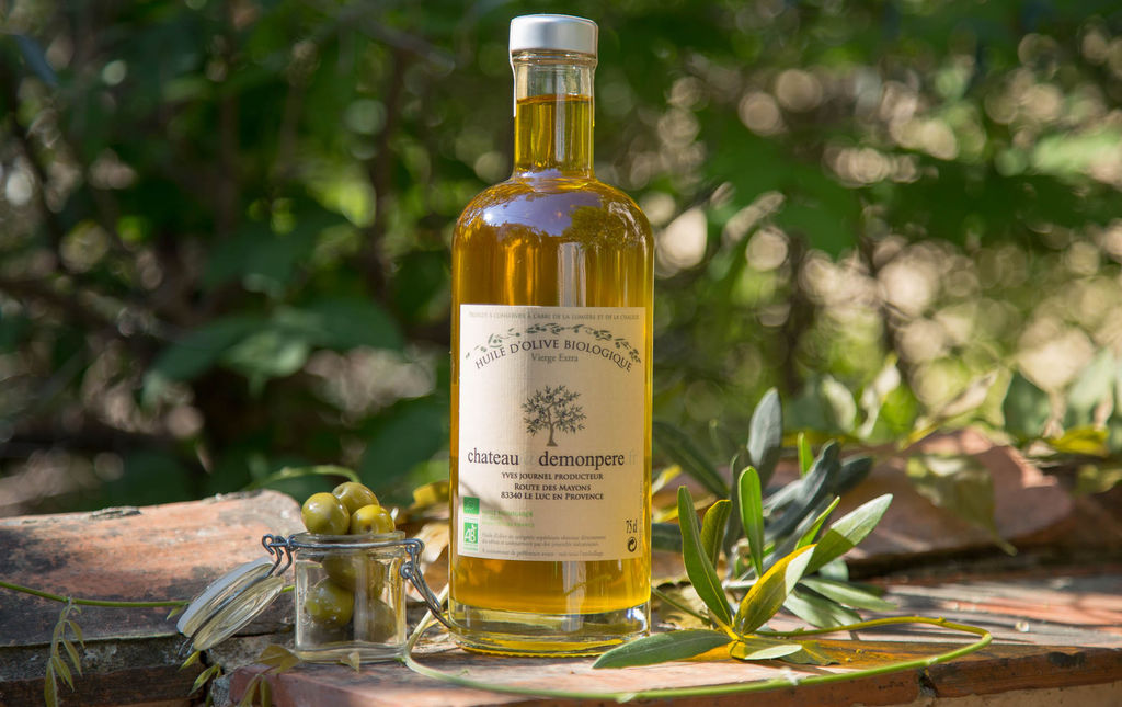 Huile d'olive bio traditionnelle