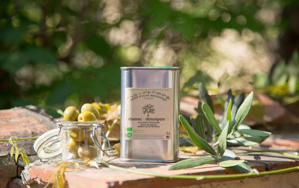 Huile d'olive bio traditionnelle 25cl