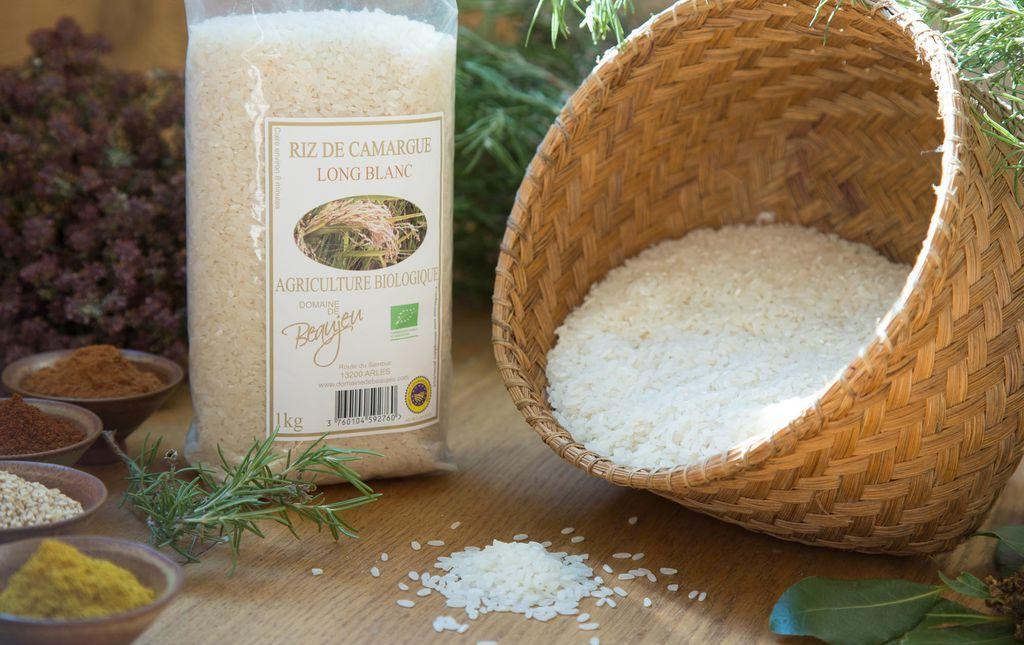 Riz long blanc bio de Camargue