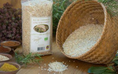 Riz semi complet bio de Camargue