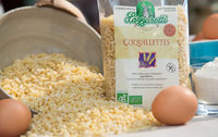 Pates coquillettes blanches bio les paniers davoine provence