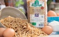 Pates macaroni bio et semi completes les paniers davoine provence