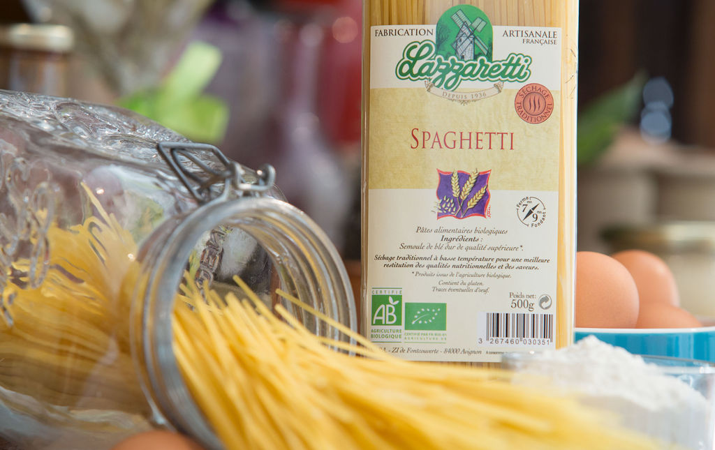 pates spaghetti bio provence les paniers davoine