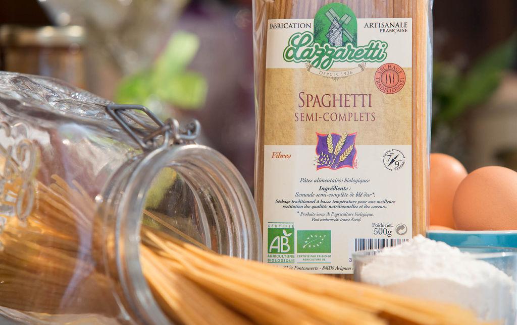 Pâtes spaghetti bio semi completes