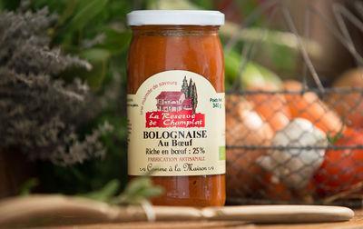 Sauce bolognaise au boeuf bio