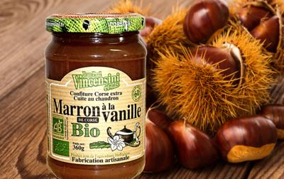 Crème de marron bio VINCENSINI