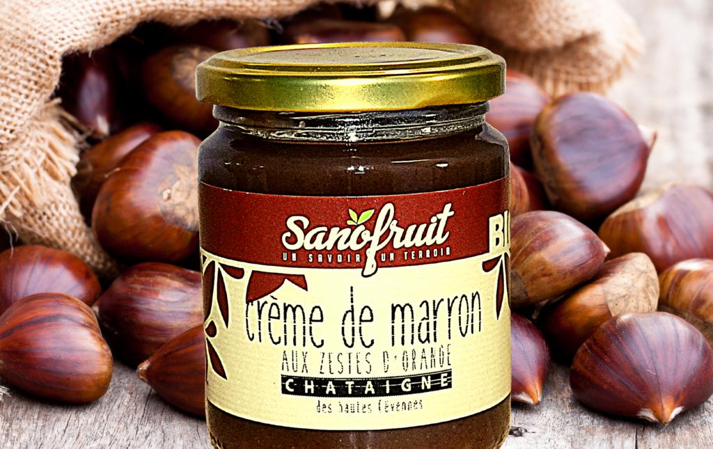 Creme marron bio Les Paniers Davoine