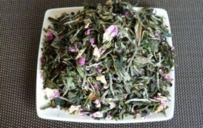 Thé blanc nuage rose bio