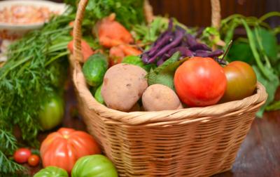 Panier 100% légumes bio