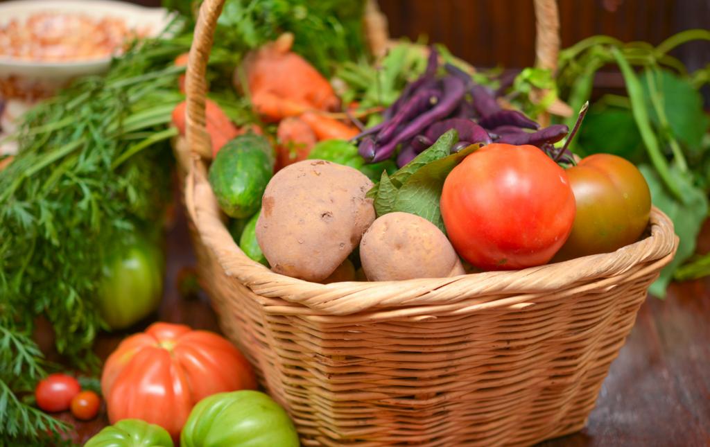 Panier de légumes Bio Les Paniers Davoine
