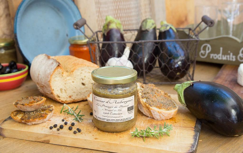 Caviar d'aubergine bio