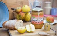 Purée de pomme abricot bio